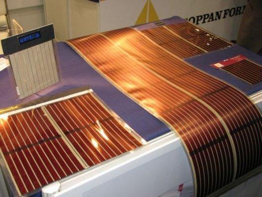 Как сделать полимерные солнечные батареи